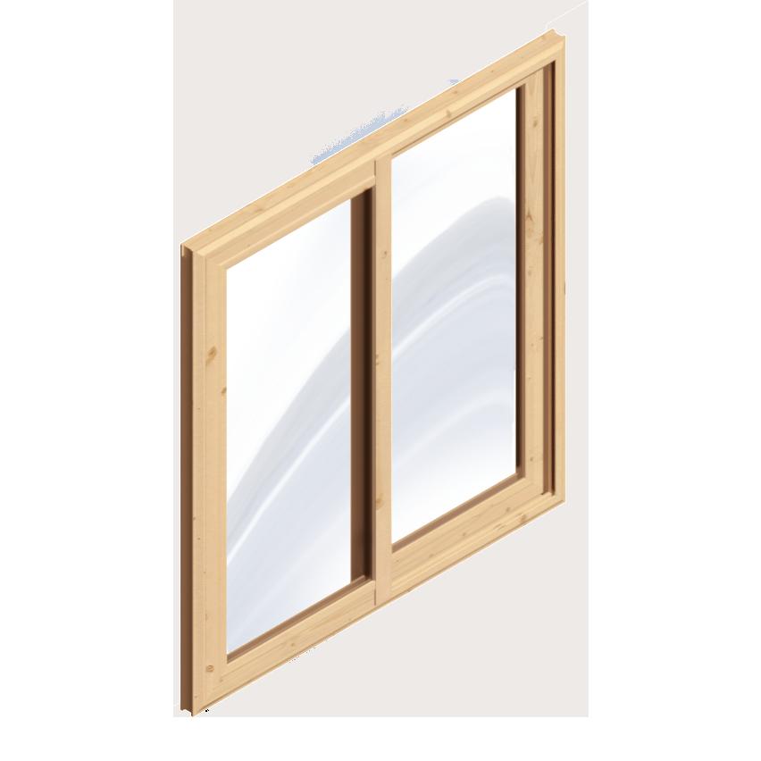 Sliding Wood Window
