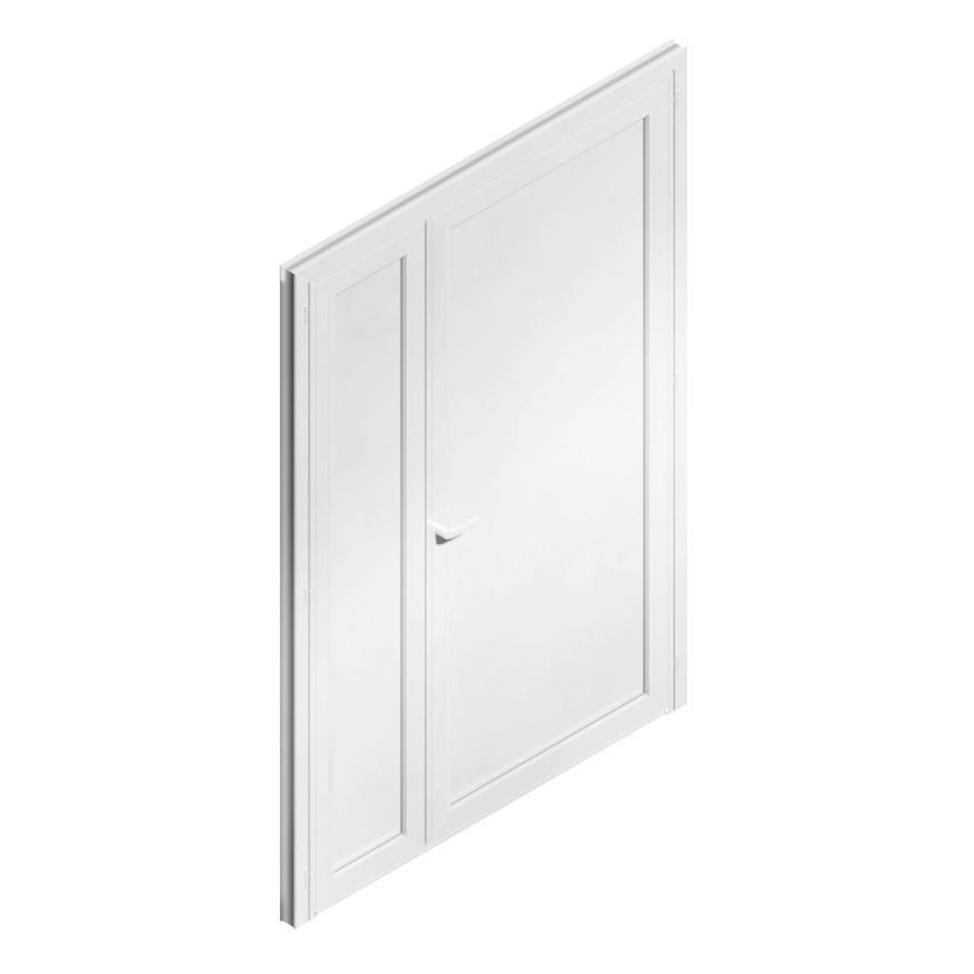 objets bim et cao porte d 39 entr e tierce menuiserie m tallique generic object. Black Bedroom Furniture Sets. Home Design Ideas