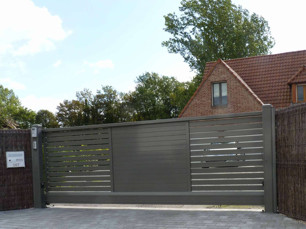 Sliding gate  CA Aluette Twister