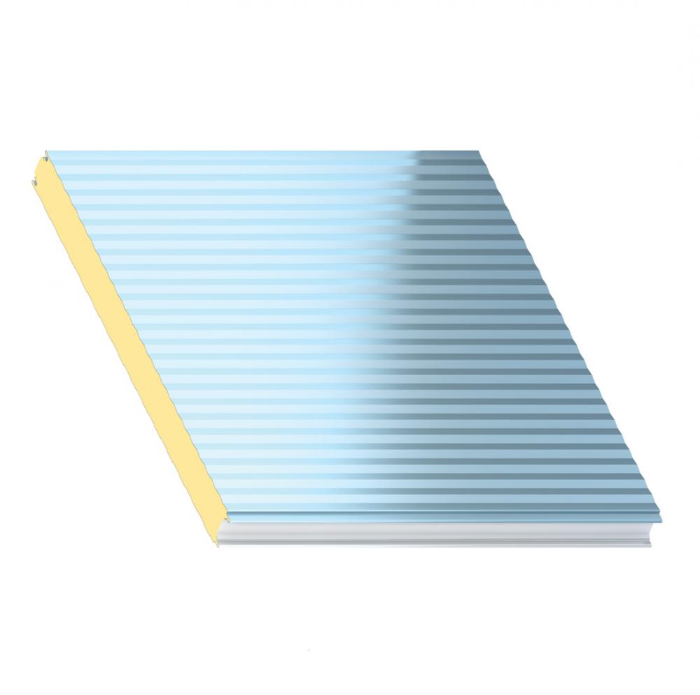 Bardage Micro-Rib MR avec isolant QuadCore