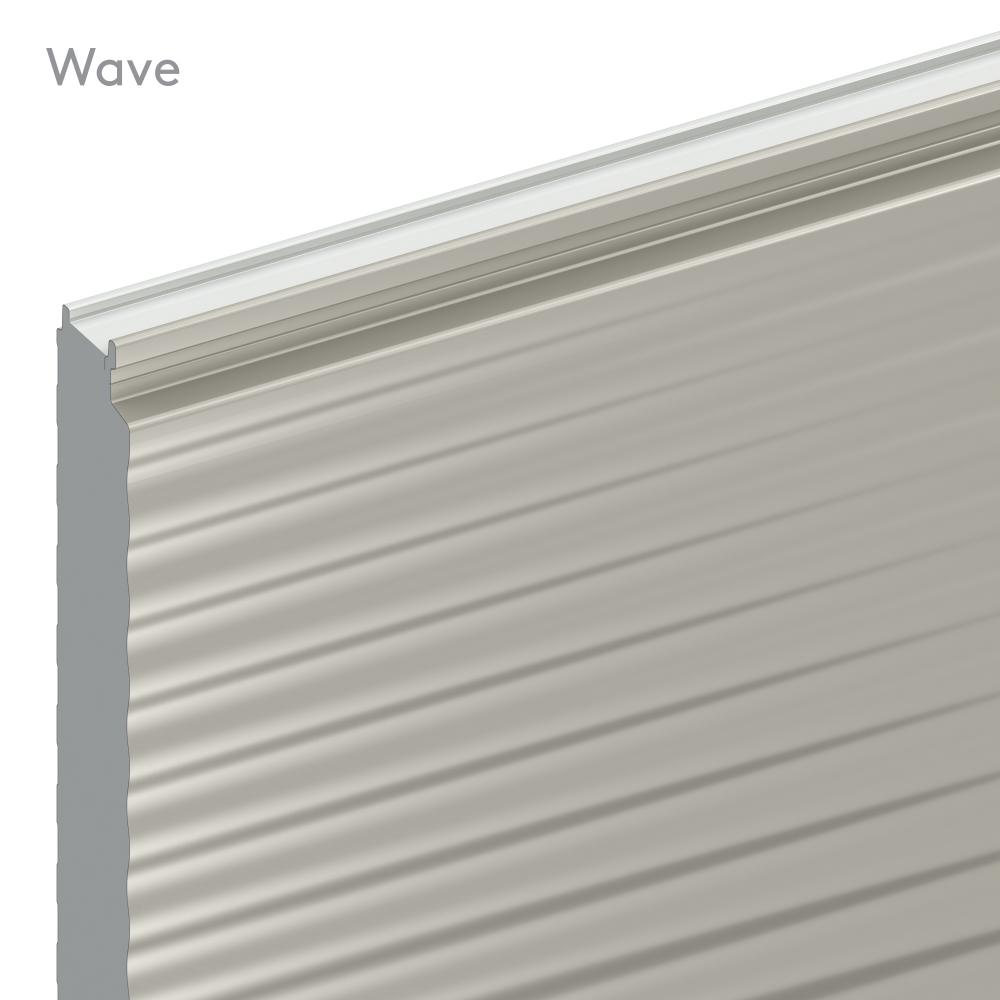 Bardage Wave WV avec isolant QuadCore