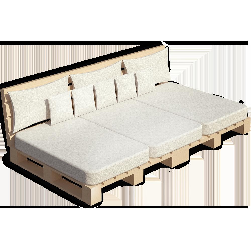 Palette Wood Sofa