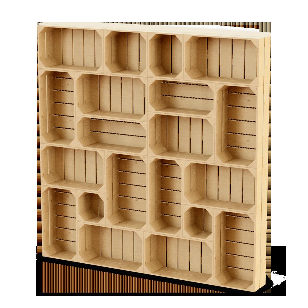 Palette Wood Wall Shelf 2