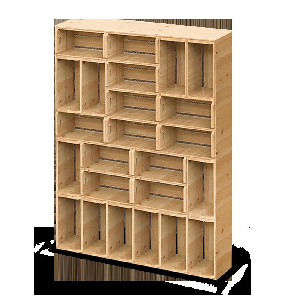 Palette Wood Wall Shelf 4