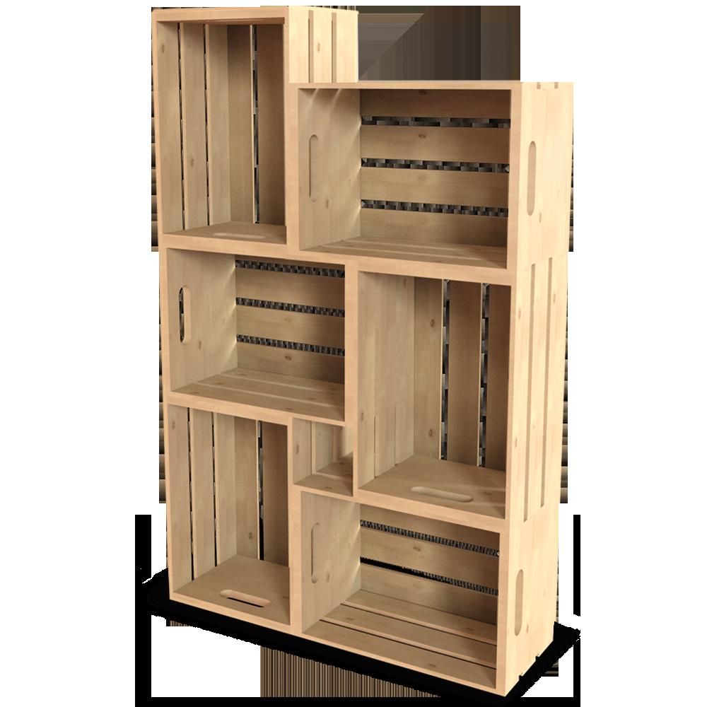Palette Wood Wall Shelf 11