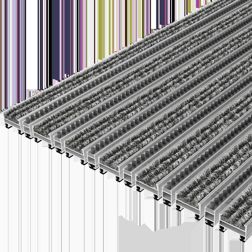 TopCleanTrend® mit Rips und Bürstenprofil