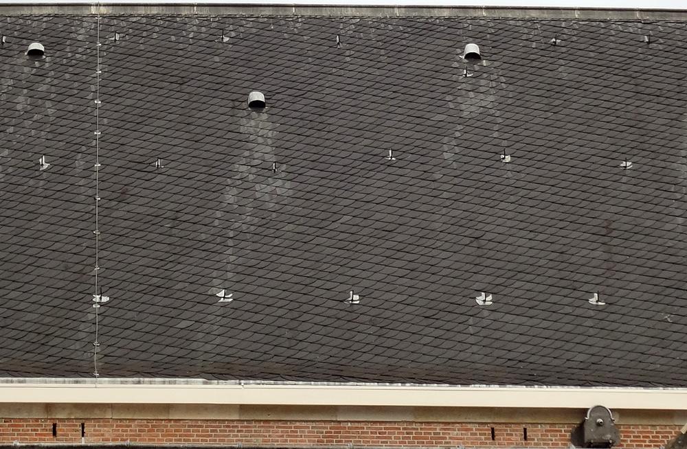 Buildings Roof 3 Grey