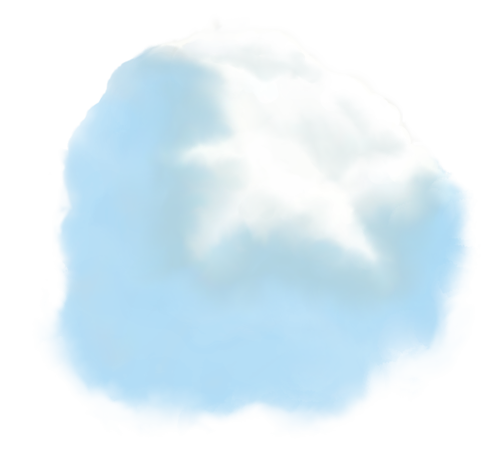 Image - Entourage - Clouds Large 3 Blue Stylized
