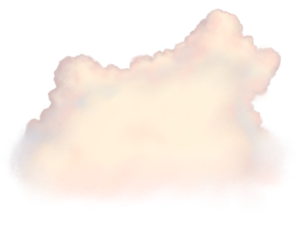 Image - Entourage - Clouds Medium 1 Pink Stylized