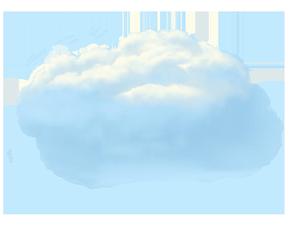 Image - Entourage - Clouds Medium 3 Blue Stylized