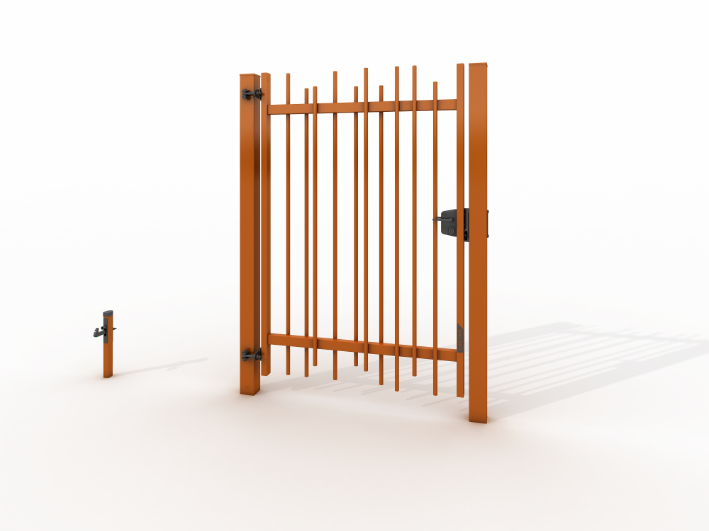Single swing gates ALLIX