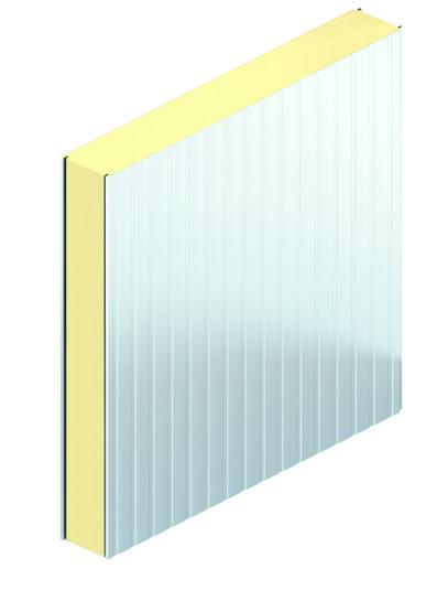 Plafond Nervuré avec isolant PIR