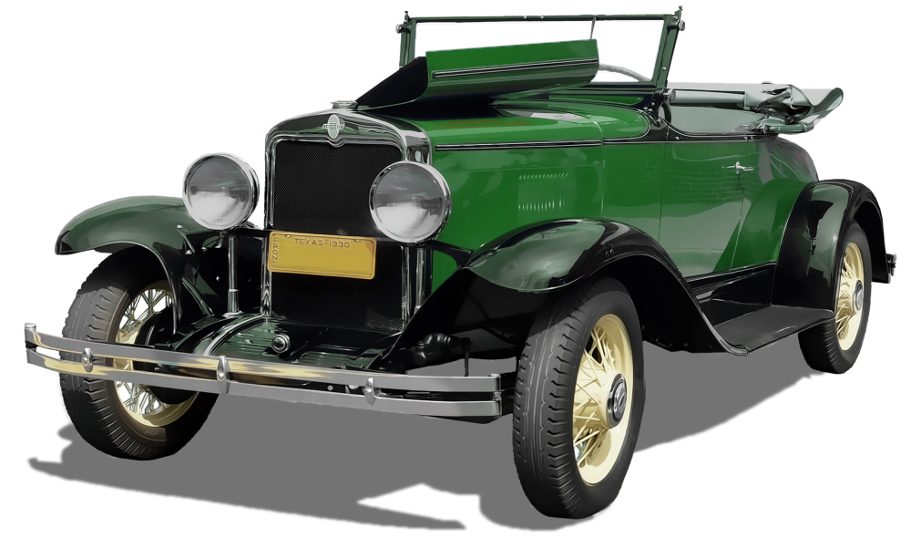 Image - Entourage - Oldtimer Car 54
