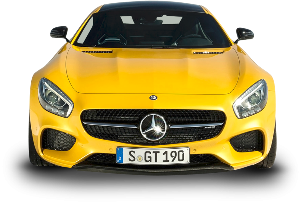 Image - Entourage - Yellow Mercedes AMG GT Solarbeam Car Front 70