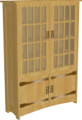 stickley chinese armoire 02