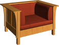 stickley armchair 01