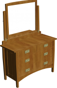 stickley dressing table