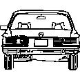 Benz 001 rear
