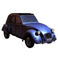 car revit 3d object citroen 2cv