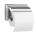Toilet roll holder, 152 x 96 mm, Chrome and nickel-plated Brass - 003511