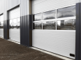 industrial door mix infill normal and high lift