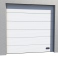 industrial micro grooved door ral 9010 normal lift in slope