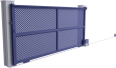 creation line - villefranche sliding gate model