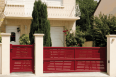 creation line - arcachon sliding gate model