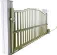 Horizon Line - Corfou Sliding Gate Model