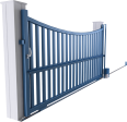 Horizon Line - Santiago Sliding Gate Model