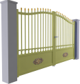 Tradition Line - Conros Swinging Gate Model