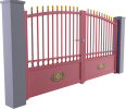 Tradition Line - Gourdon Swinging Gate Model