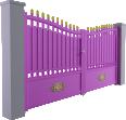 Tradition Line - Niort Swinging Gate Model