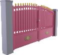 Tradition Line - Saverne Swinging Gate Model