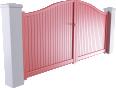 intimité line - belfast swinging gate model