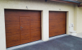 Veined Wood Plain with Wicket Door - Normal Lift