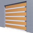 smoked glass door normal lift in slope line'r
