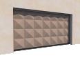 014 Porte basculante SAFIR S400 pointe diamant