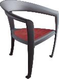 Nastra wood armchair