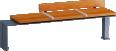 Evéole backless bench model C