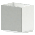 METOD MAXIMERA Base Cb 2 Fronts 2 High Drawers White Ringhult White