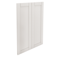 savedal 2 door corner base cabinet set white