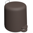 snapp pedal trash can 5 liters