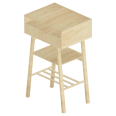 KNOTTEN Standing Workstation