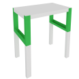 pahl desk with shelf