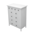 HEMNES 6 Drawer Chest of Drawers