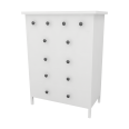 hemnes 6 drawer chest variant 2