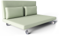 Two Seat Sofa Bed Roma