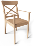 ingolf chair with armrest