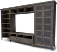 TV Storage Combination